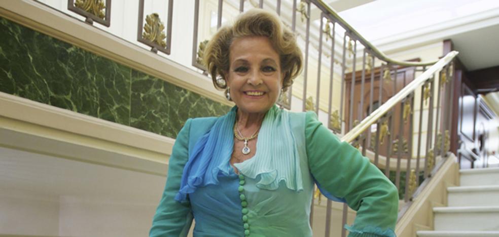 El entorno de Carmen Sevilla desmiente que esté en estado crítico