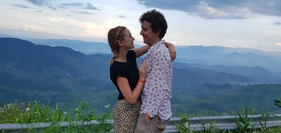 Marta Hazas y Javier Veiga de luna de miel en Tailandia