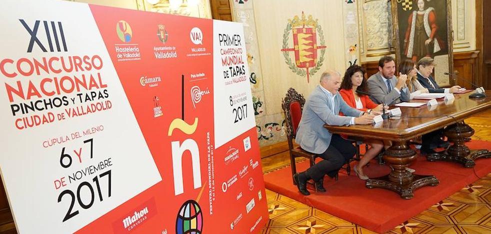 Valladolid, Capital Mundial de las Tapas del 4 a 12 de noviembre