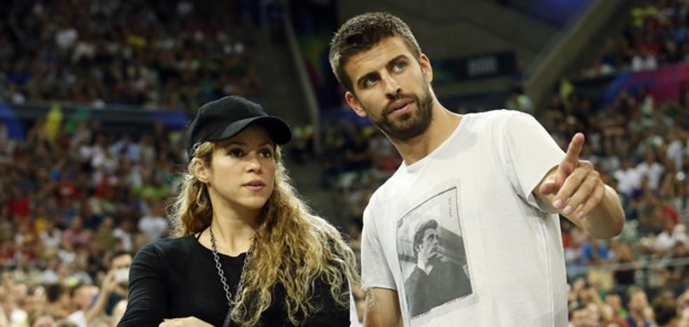 Piqué pone fin a los rumores de crisis con Shakira