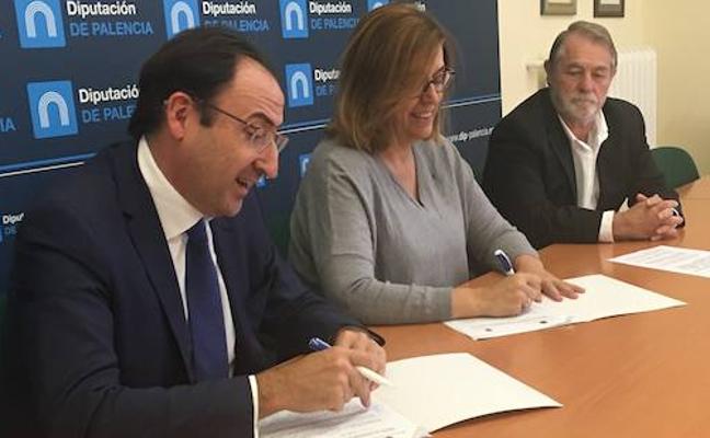 Los centros de la Diputación y el Ayuntamiento, conectados con fibra óptica