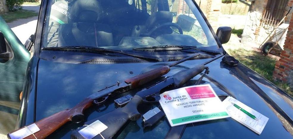 Denunciados por el uso de rifles sin limitador de balas en una montería en Segovia