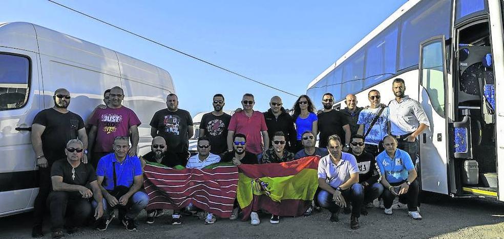 Los diez guardias civiles desplazados a Cataluña vuelven a Palencia