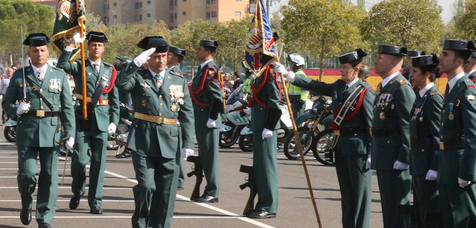 La Comandancia de Valladolid recuerda a los efectivos desplegados en Cataluña
