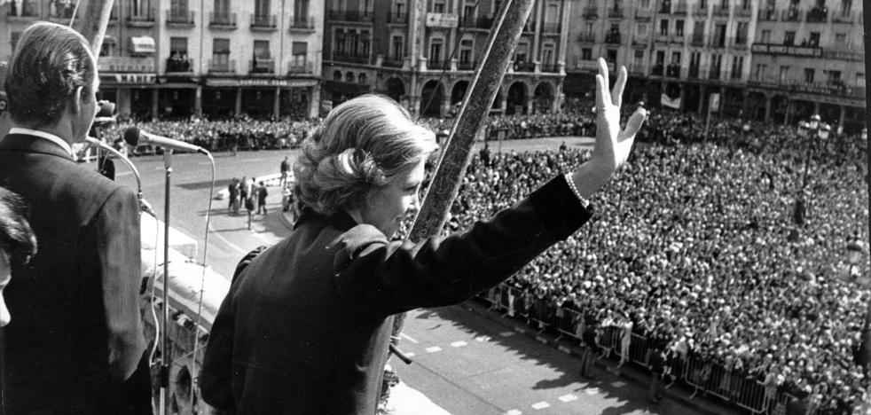 Los Reyes de España presidieron en Valladolid los actos del 'Día de la Hispanidad'