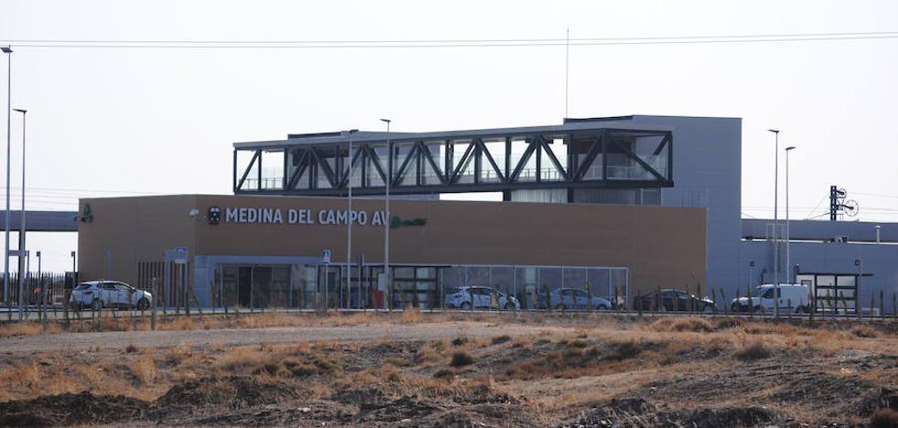 La estación del Ave de Medina del Campo, a punto de entrar en servicio
