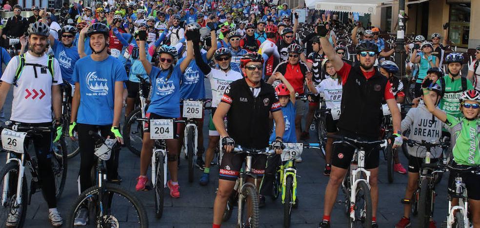 La Marcha de la Bicicleta conjuga deporte y solidaridad
