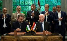 Al Fatah y Hamás firman un acuerdo de reconciliación