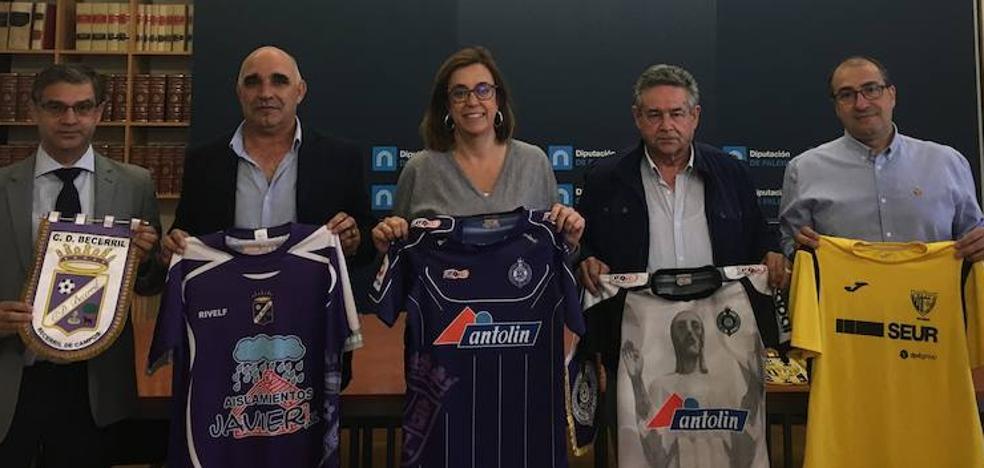 La Diputación apoya al fútbol palentino con 20.000 euros