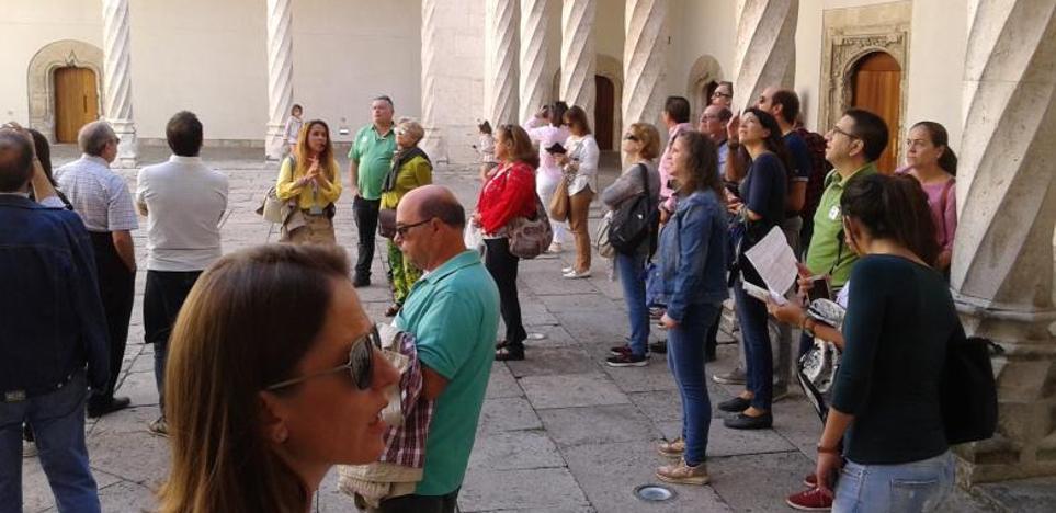 El Museo Nacional de Escultura recibe más de 2.000 visitantes en dos días