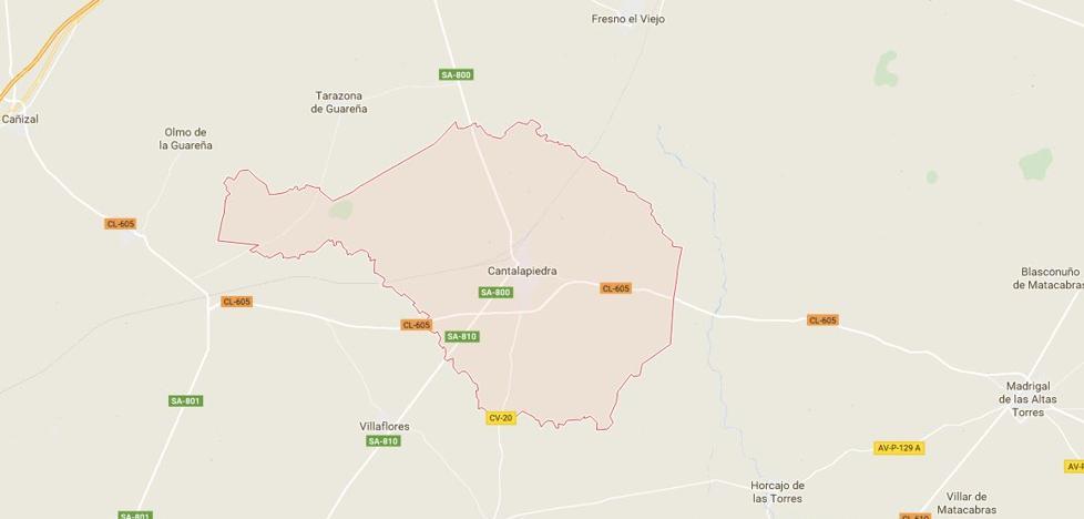 Fallece una mujer en una colisión entre un camión y un turismo en Cantalapiedra