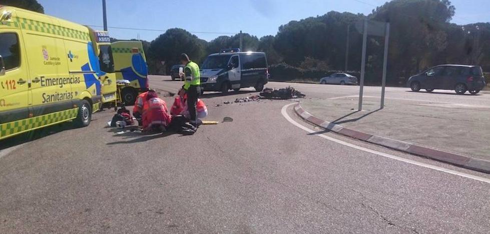La N-122, en su entrada en Valladolid, el tramo más peligroso de España