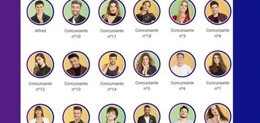 Un error de TVE desvela quiénes son los concursantes de 'OT 2017'