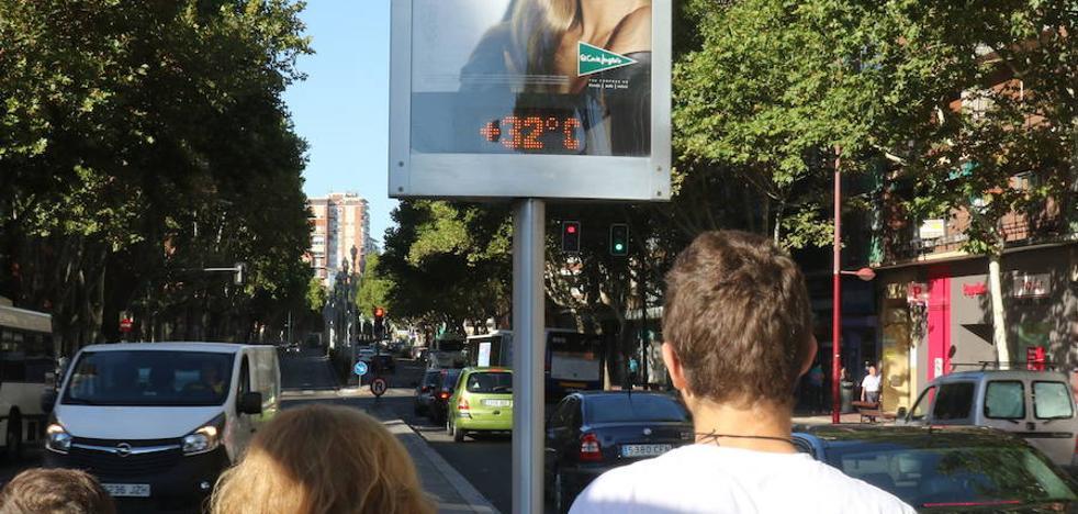 La Aemet prevé temperaturas récord este fin de semana en Castilla y Léon