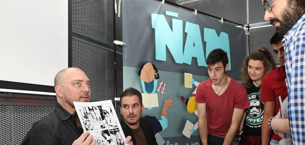 El ÑAM apuesta por los ilustradores más jóvenes