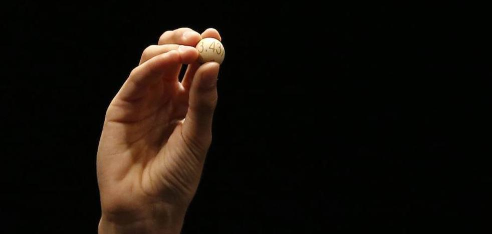 La Lotería Nacional reparte en Burgos 600.000 euros del primer premio
