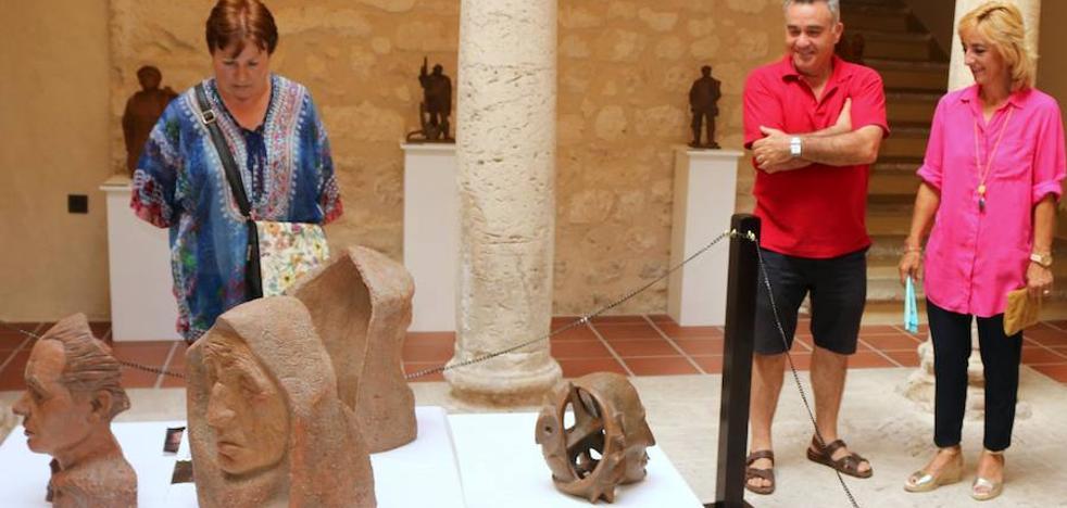 El Museo del Cerrato expone ochenta piezas de cerámica halladas en Tabanera