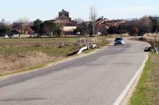 La vía entre Escarabajosa y la A-601 pasará de un ancho de 4,70 a 6,20 metros