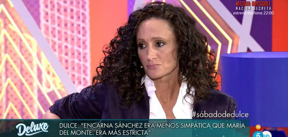 Dulce arremete contra Alejandro Albala en 'Sábado Deluxe'
