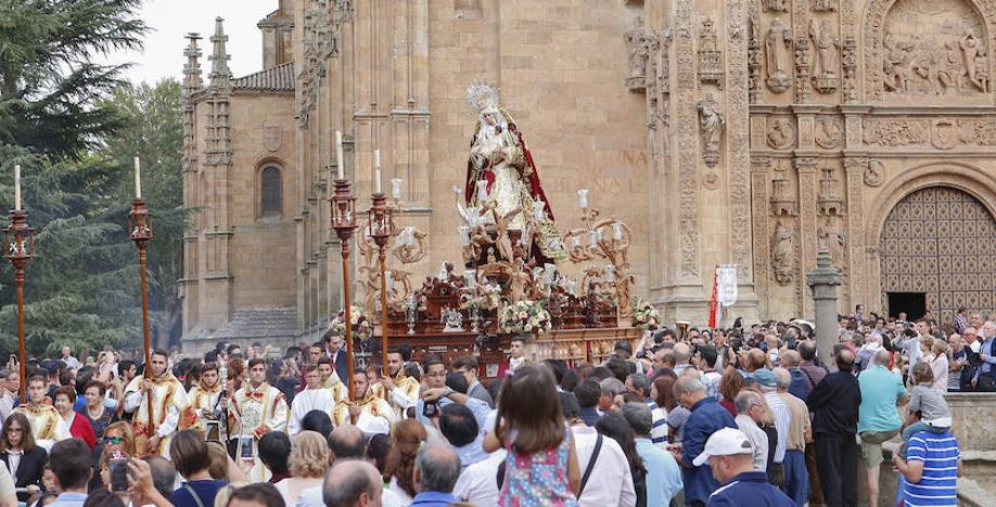 Tarde de Rosario en el convento de San Esteban
