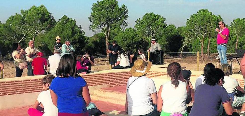 Alaejos pedirá que el sendero de la ermita de Santa Ana se homologue como ruta turística