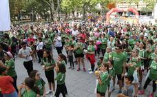 Marea verde en Palencia contra el cáncer