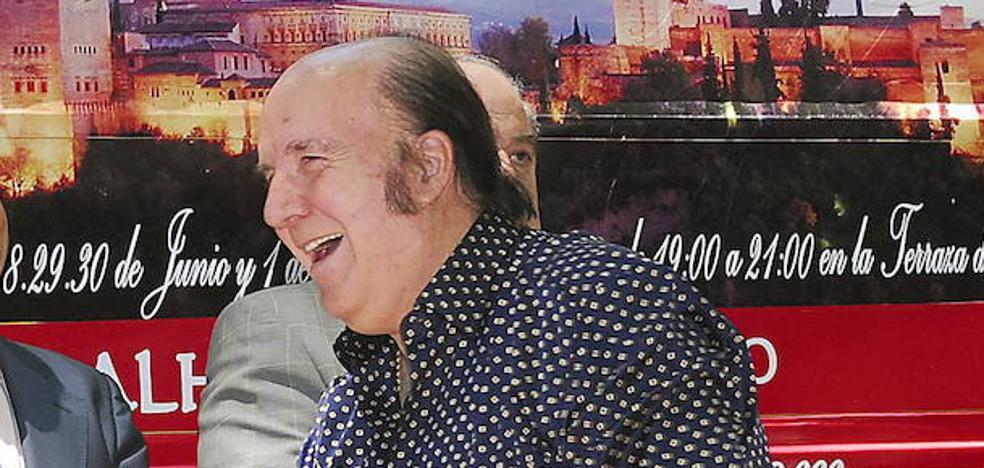 Chiquito, ingresado tras caerse en su casa de Málaga