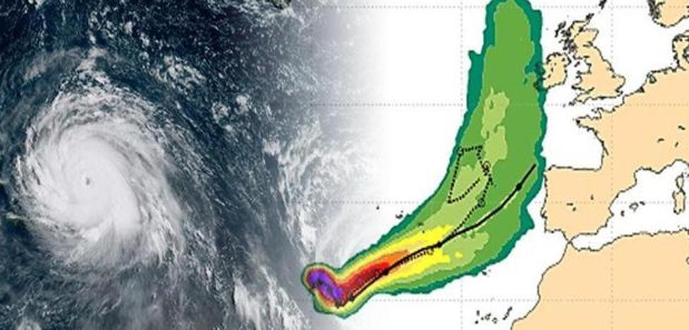 El huracán 'Ophelia' pone en alerta amarilla a las zonas montañosas de León por fuertes vientos