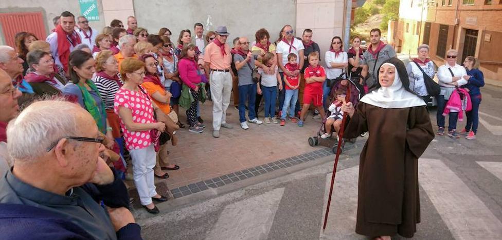 Santa Teresa termina su ruta