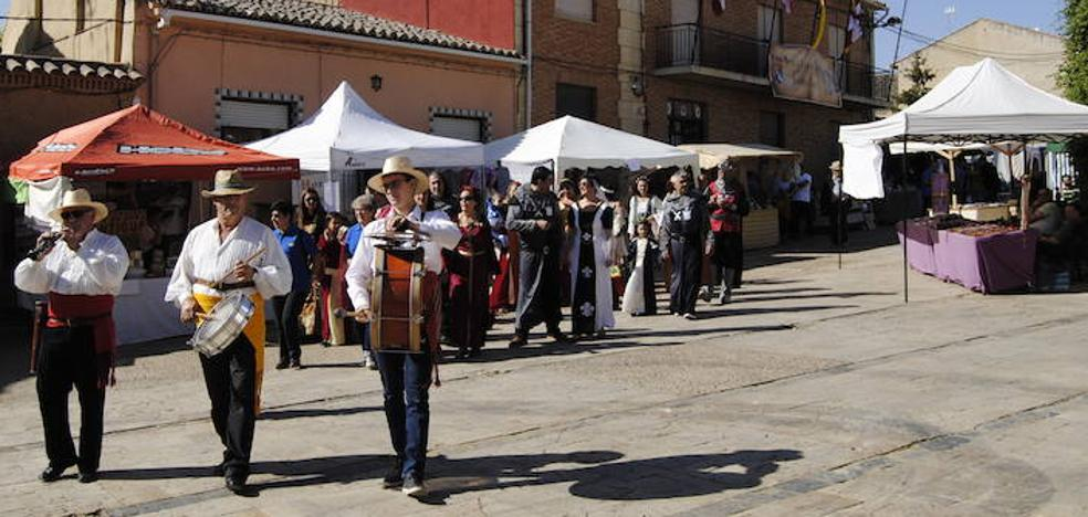 Santervás de Campos celebra su tercer Mercado Medieval del Camino de Santiago