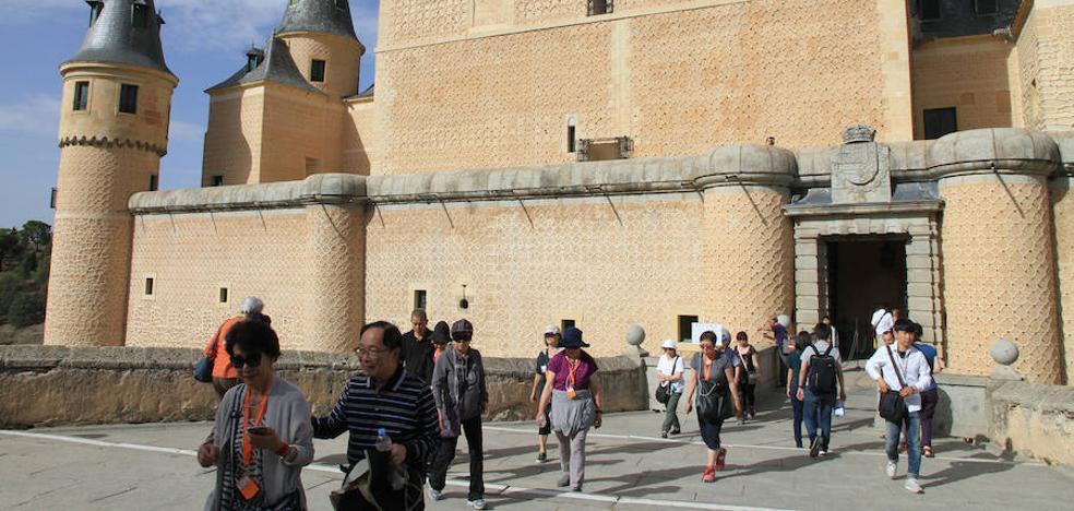 El Alcázar de Segovia batirá este año su récord de visitas: más de 600.000