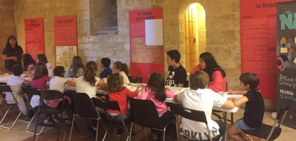 Henar Torinos acerca el cómic a los más pequeños en Palencia