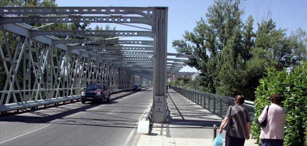 El carril de salida del Puente de Hierro de Zamora, cortado a partir de mañana