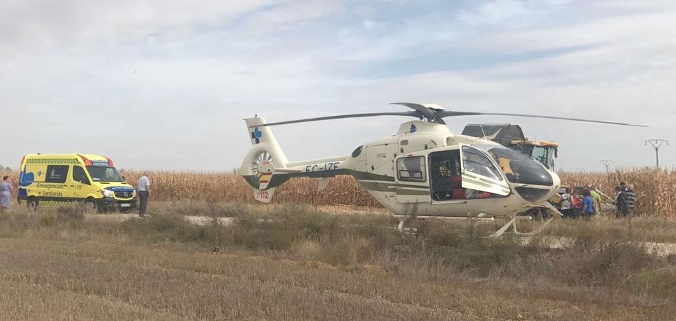 Fallece electrocutado un hombre de 42 años en un campo de maíz en la localidad de Villaornate
