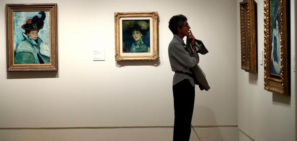 Pablo Picasso y Touluse-Lautrec, juntos por primera vez