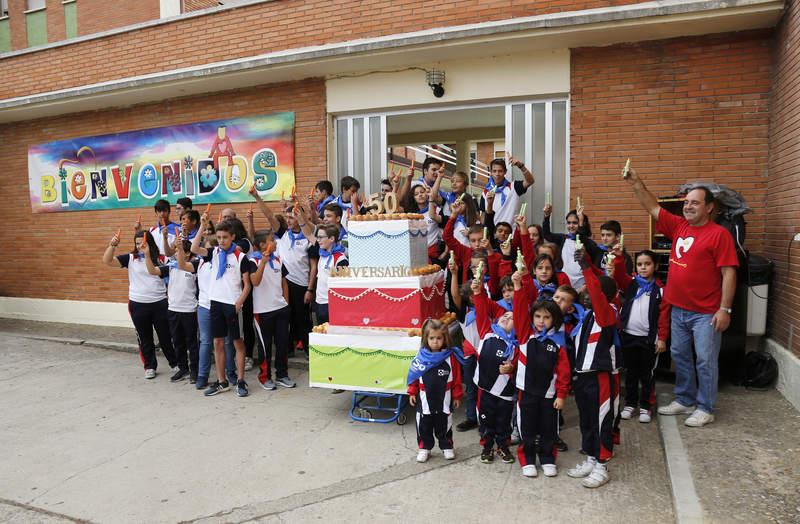 Celebración del 50 aniversario de la presencia de los Padres Reparadores en Venta de Baños