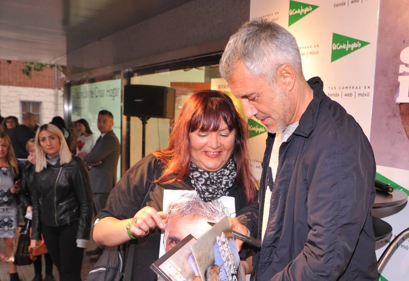 Firma de discos de Sergio Dalma en El Corte Inglés de Valladolid