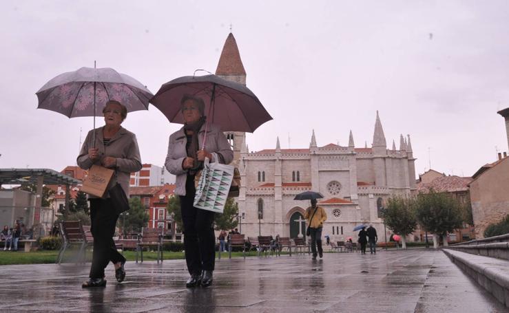Llueve en Valladolid