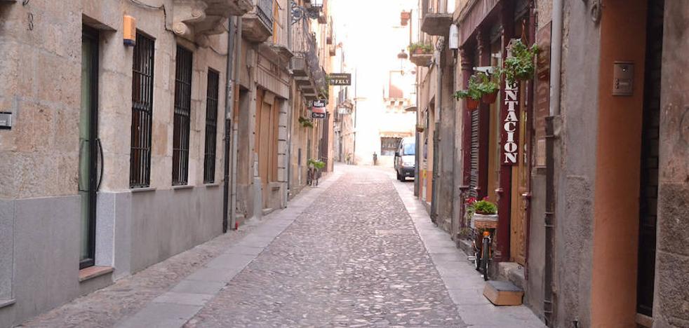 Las obras de la calle Madrid comenzarán entre la plaza del Conde y las Cuatro Calles