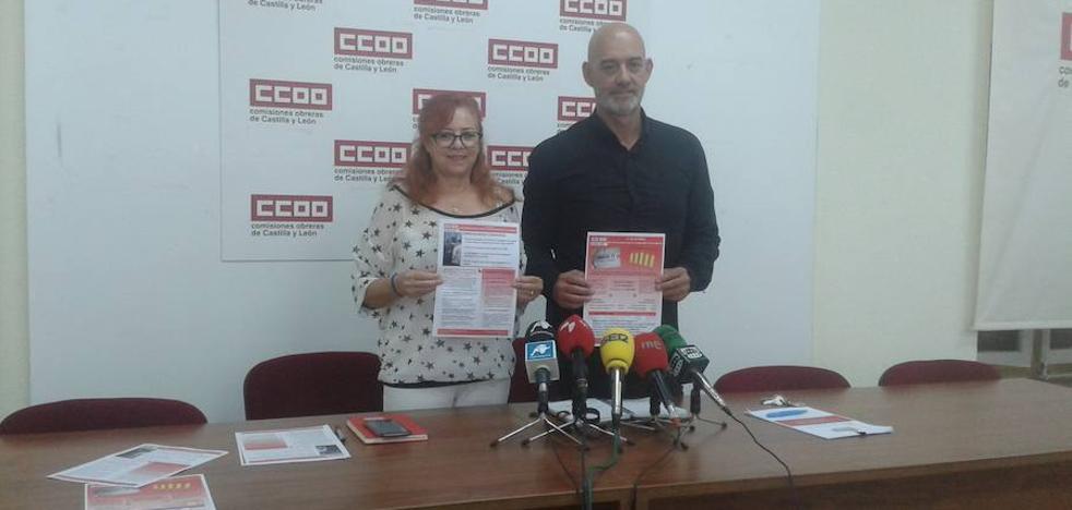 CC OO denuncia el alto riesgo de caer en la pobreza en Salamanca