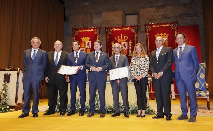 Entrega de las Medallas de Oro de la Ciudad de Salamanca