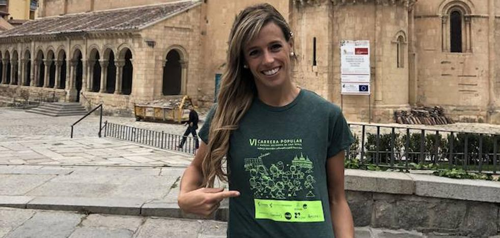 Carolina García Garzón, madrina de honor de la carrera de Caja Rural