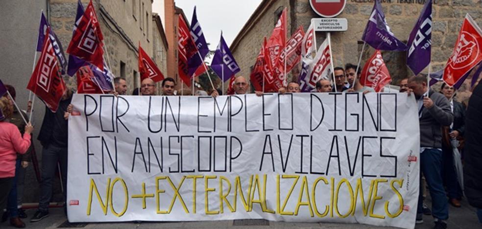 La plantilla de AN SCoop protesta por la precarización de sus condiciones laborales