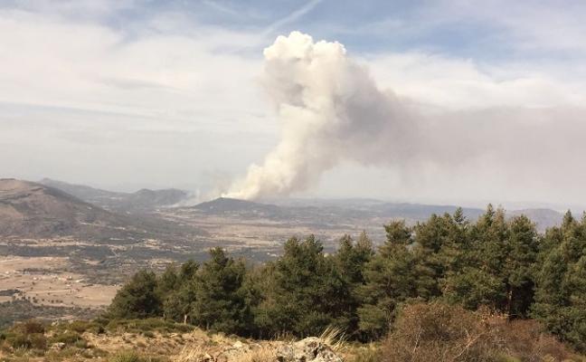 Controlado el incendio en Gilbuena