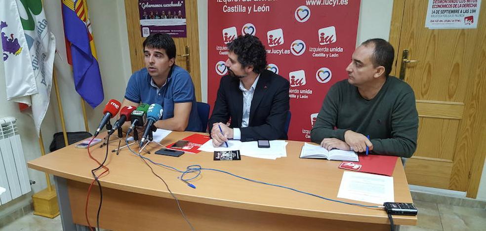 IU alega contra la inscripción en el registro de la iglesia de San Francisco de Palencia