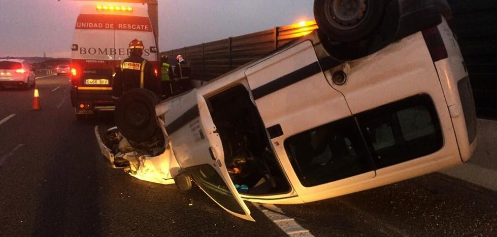 Tres heridos en un accidente de tráfico a la altura de Aldeamayor
