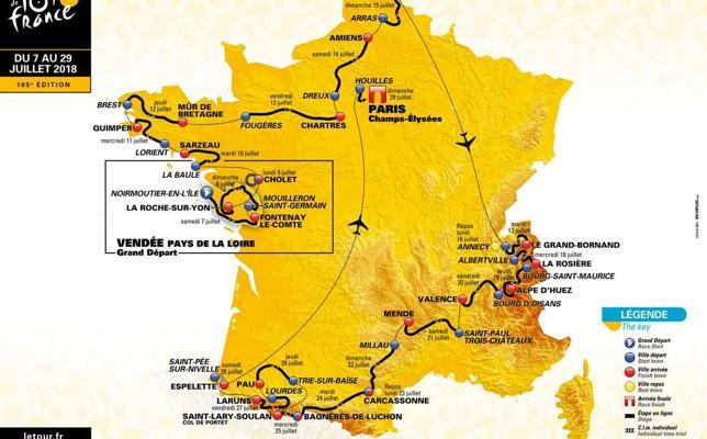 La etapa reina del Tour, de 65 kilómetros en los Pirineos