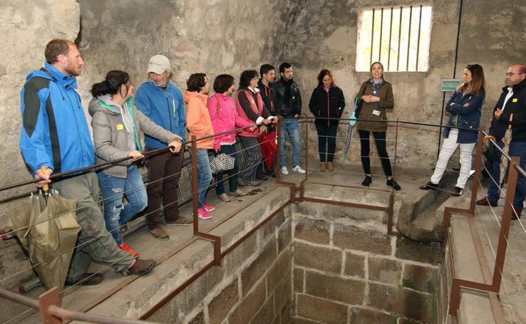 Visita al interior del Acueducto de Segovia