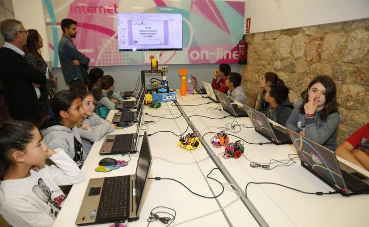 Taller de robótica en el espacio CyL Digital de Palencia