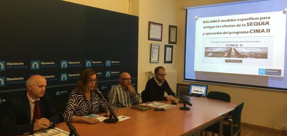 La Diputación de Palencia lleva agua en cisternas a 3.000 vecinos en 21 núcleos de población